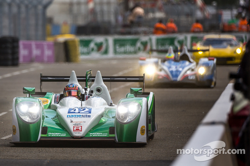#42 卡特汉姆 Racing Zytek Z11SN - 日产: 汤姆·金博-史密斯, 克里斯·戴森, 马修·麦克穆里
