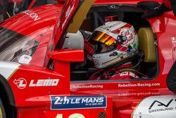 #13 Rebellion Racing Rebellion R-One - Toyota: Dominik Kraihamer