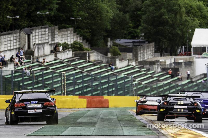 #43 Intersport Racing 宝马 E92 V8: 安娜·瓦莱夫斯卡, 伊恩·唐纳森