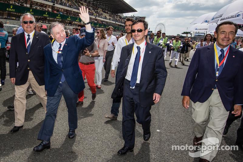 FIA President Jean Todt and ACO President Pierre Fillon
