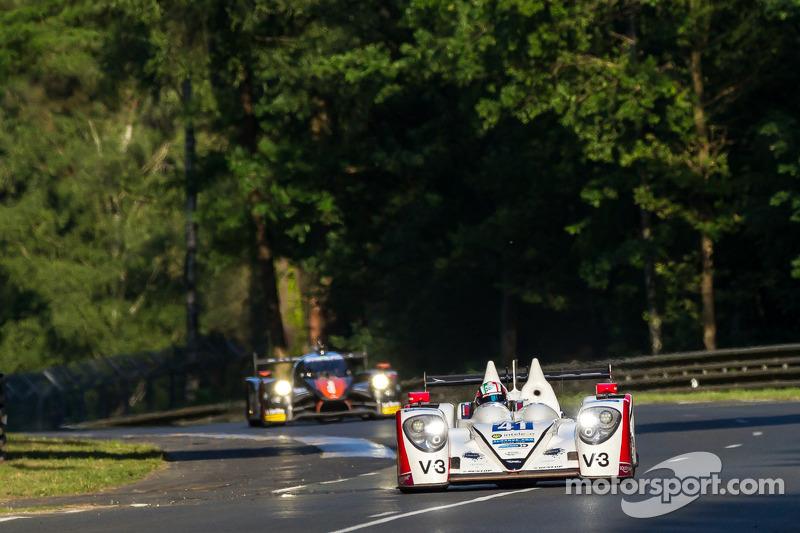 #41 Greaves Motorsport Zytek Z11SN - Nissan: Rudolf Nunemann, Alessandro Latif, James Winslow