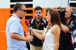 Jonathan Noble, Autosport; Natalie Pinkham, Sky Sports F1