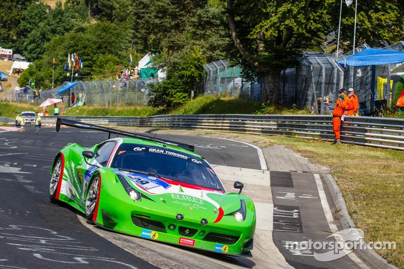 #29 GT Corse by Rinaldi Ferrari 458 Italia GT3: Alexander Mattschull, Andrea Barlesi, Pierre Ehret,