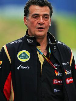 路特斯车队副经理费德里科·加斯塔尔迪