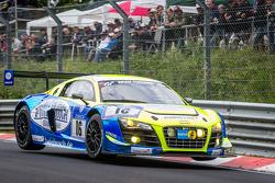 #16 Twin Busch Motorsport 奥迪 R8 LMS ultra: Dennis Busch, Marc Busch, Manuel Lauck, 斯蒂凡·兰德曼