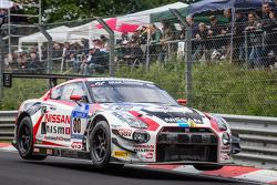 #80 Nissan GT Akademi Takımı RJN Nissan GT-R Nismo GT3: Nick Heidfeld, Alex Buncombe, Lucas Ordonez, Florian Strauss