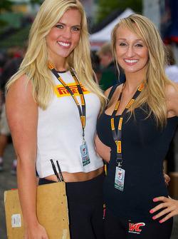 Pirelli World Challenge promotional girls