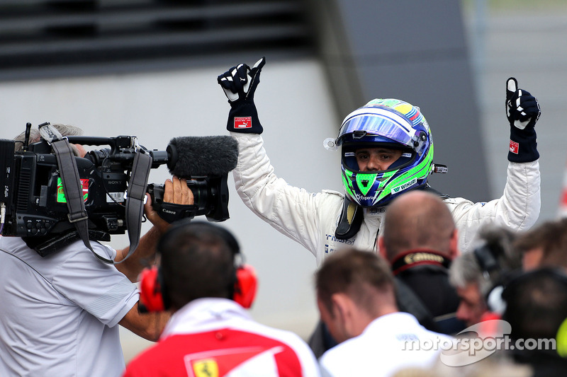 Polesitter Felipe Massa, Williams