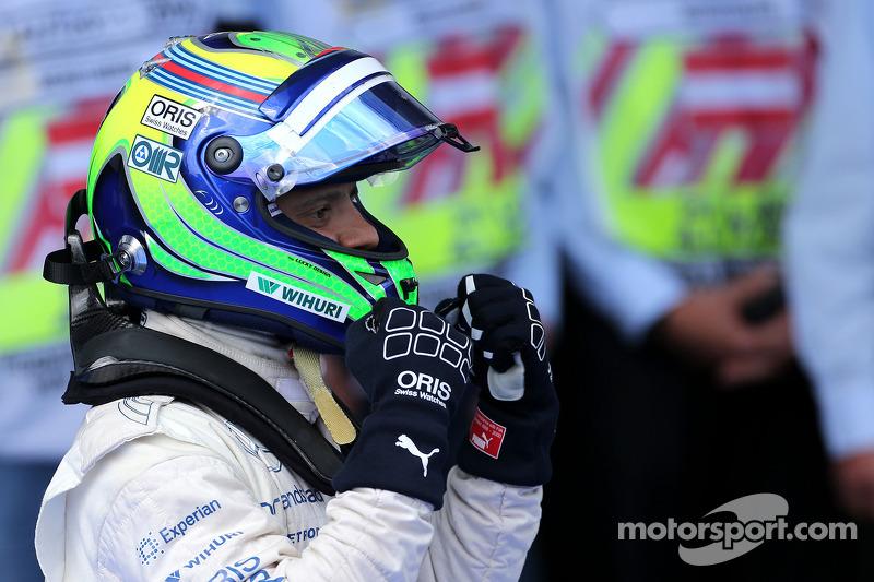 Polesitter Felipe Massa, Williams