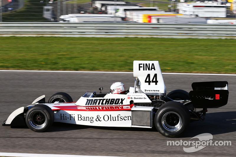 Dieter Quester ve Surtees TS16 yeniden birlikte