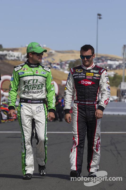 Ricky Stenhouse Jr. e Austin Dillon