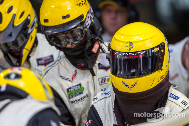 Corvette pit ekibi