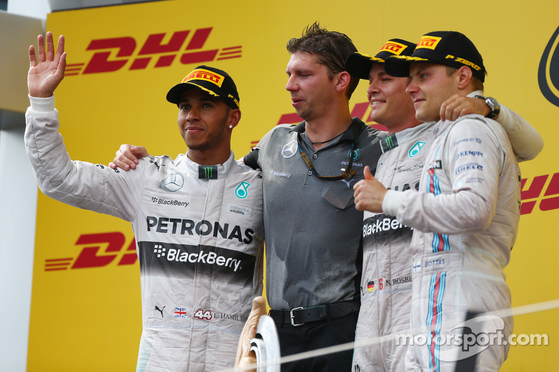 60-Gran Premio de Austria 2014 (2º), Mercedes