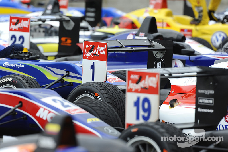 Parco chiuso 21.06.2014. FIA F3 Campionato Europeo