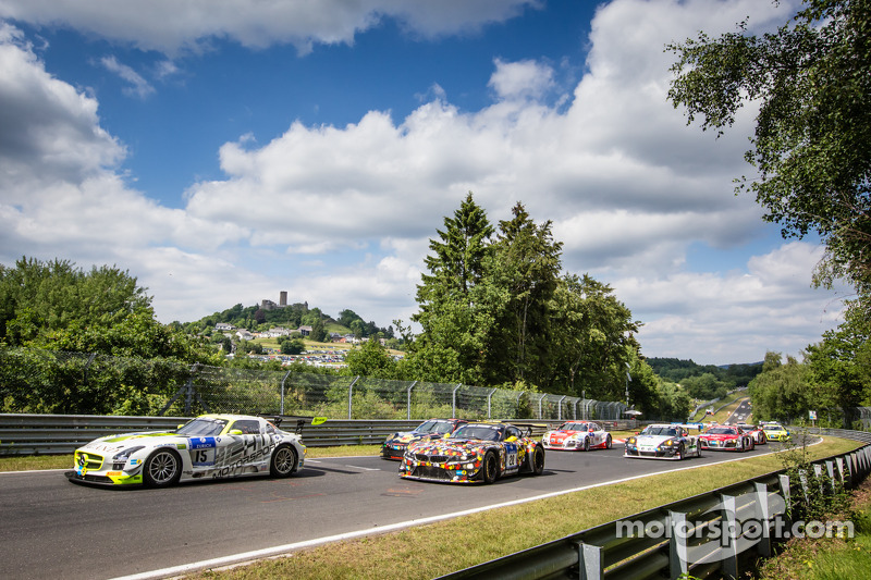 Via: #15 HTP Motorsport Mercedes-Benz SLS AMG GT3: Harold Primat, Maximilian Götz, Kenneth Heyer, Ro