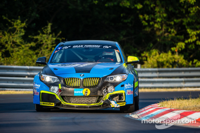 #301 Scheidl-Partl Motorsport 宝马 M235i Racing: Max Partl, Jörg Weidinger