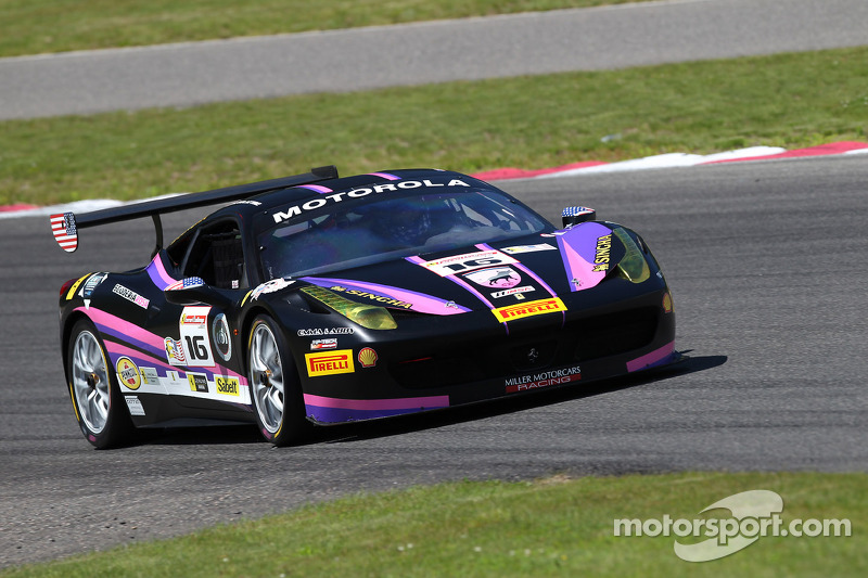 #16 Miller Motorcars Ferrari 458: Al Delattre