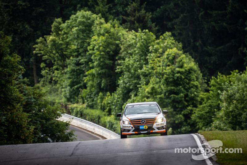 #186 Team AutoArena Motorsport Mercedes-Benz C 230: Patrick Assenheimer, Marc Marbach, Hannes Pfledd