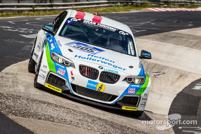#305 Medilikke Motorsport 宝马 M235i Racing: Michael Hollerweger, 吉拉德·费舍尔, 迈克尔·费舍尔