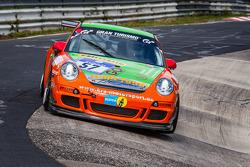 #57 Porsche 997 Cup: André Krumbach, Andreas Riedl, Ivan Reggiani
