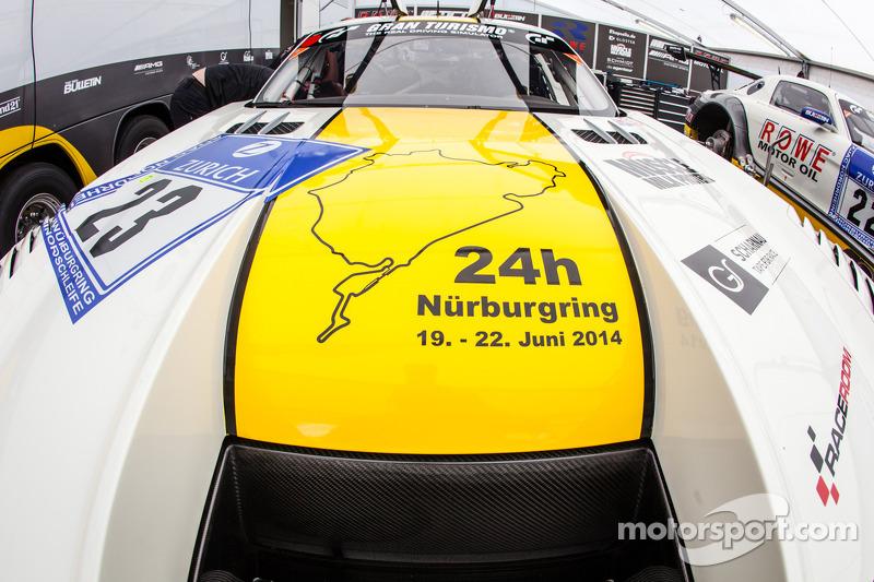 #23 Rowe Racing 梅赛德斯-奔驰 SLS AMG GT3
