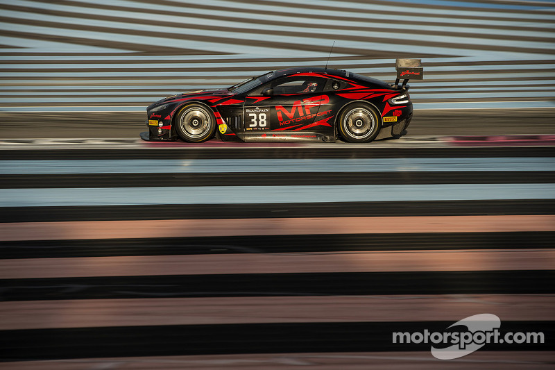 #38 MP Motorsport 阿斯顿马丁 Vantage GT3: 马克·普尔, 乔·奥斯博尔内, 理查德·阿布拉