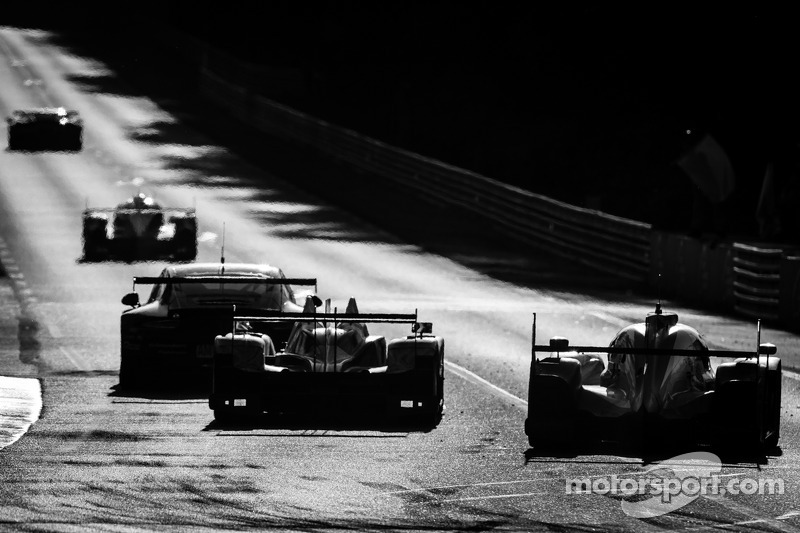 #38 Jota Sport Zytek Z11SN - Nissan: Simon Dolan, Harry Tincknell, Oliver Turvey, #2 Audi Sport Team