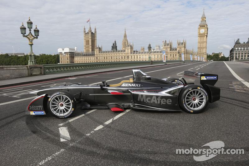 Formula E Londra'da