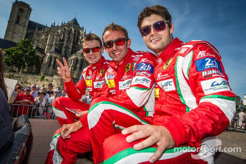 Davide Rigon, Olivier Beretta and Pierre Kaffer
