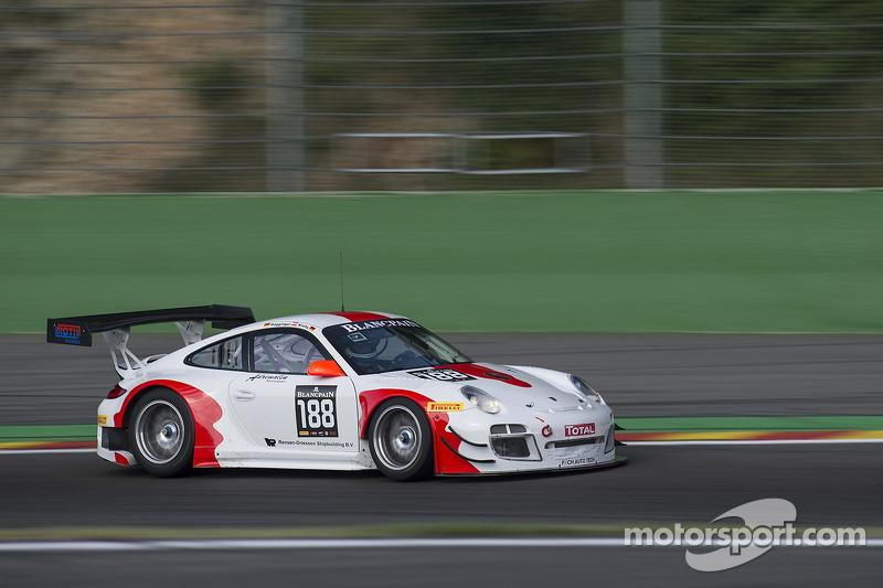 #188 Fach Auto Tech 保时捷 997 GT3 R:  马丁·雷齐格, 菲利普·弗洛蒙维勒