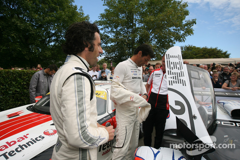 Dario Franchitti ve Mark Webber