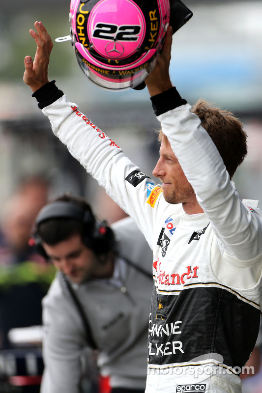 Platz 2 im Qualifying: Jenson Button, McLaren F1 Team