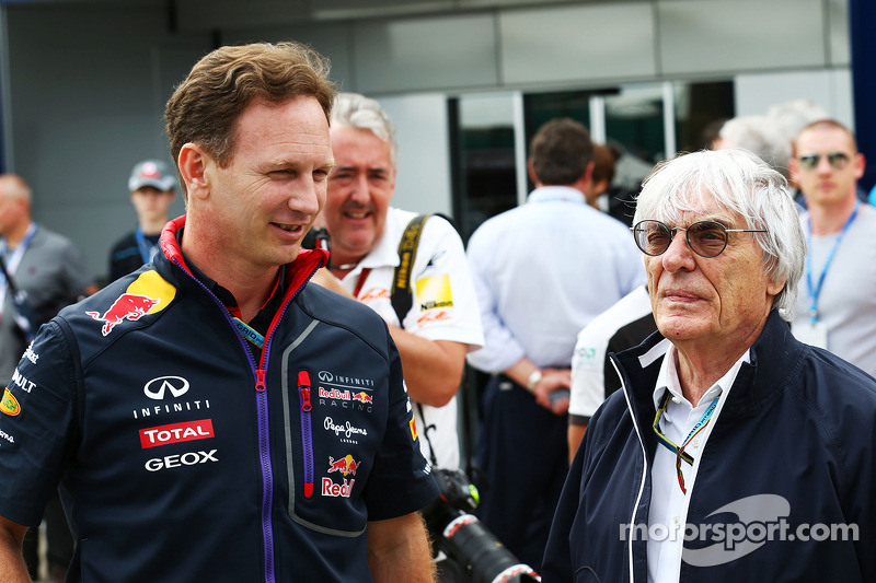 Christian Horner, Red Bull Racing Takım Patronu ve Bernie Ecclestone