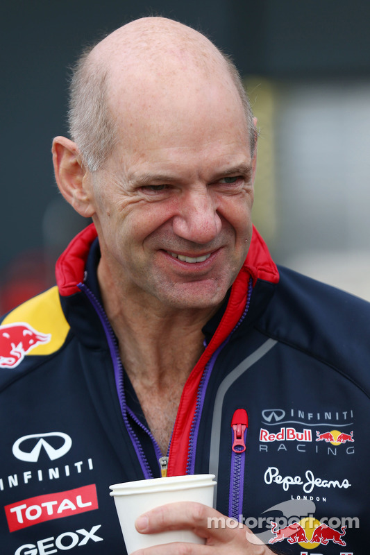 ADr. Vijay Malyaian Newey, Red Bull Racing Chief Technical Officer