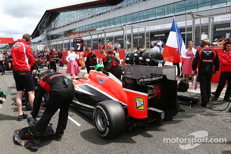 Jules Bianchi, Marussia F1 Takımı MR03 gridde