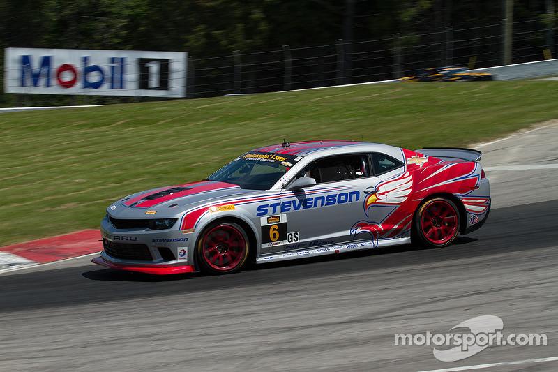 #6 Stevenson Motorsports 科迈罗 Z/28.R: 罗宾·利德尔, 安德鲁·戴维斯