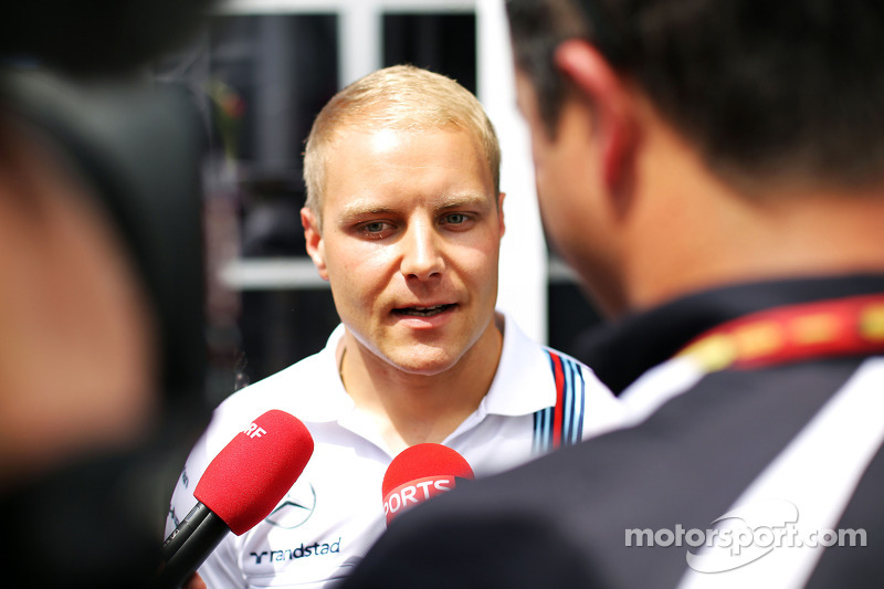 Valtteri Bottas, Williams con i media