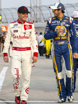 Kyle Larson and Chase Elliott