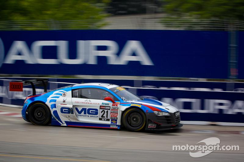 #21 Global Motorsports Group 奥迪 R8: 安德鲁·帕默