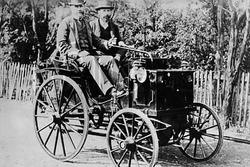 Panhard-Levassor (1890–1895), similar to Paul Panhard's fourth place finisher