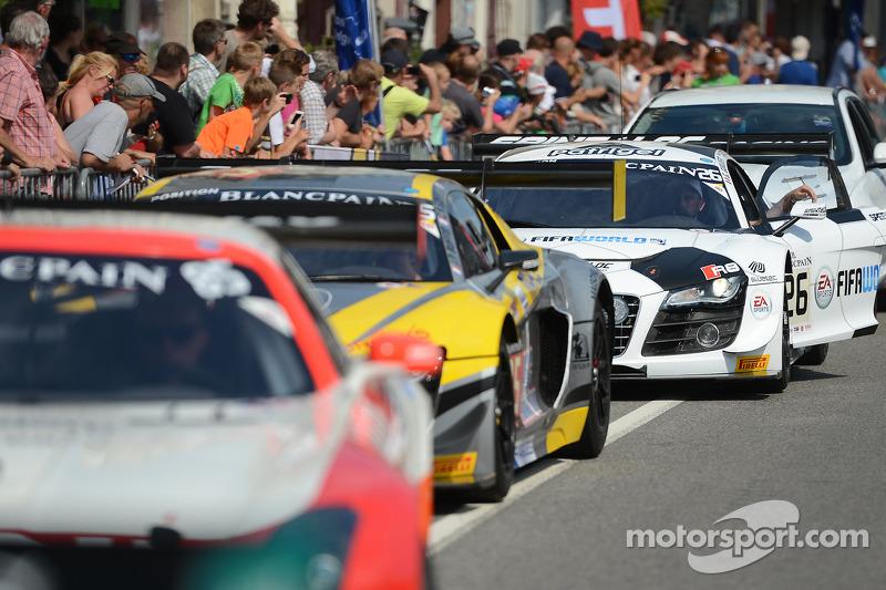 #26 Saintéloc Racing 奥迪 R8 LMS ultra: 格里高利·吉尔维, 斯蒂芬·奥尔特利, 爱德华兹·桑德斯托姆
