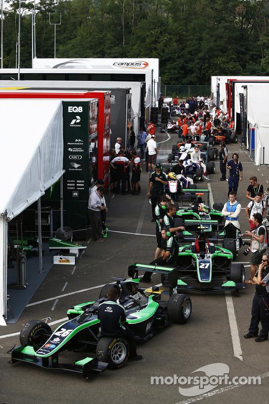 Il paddock GP3
