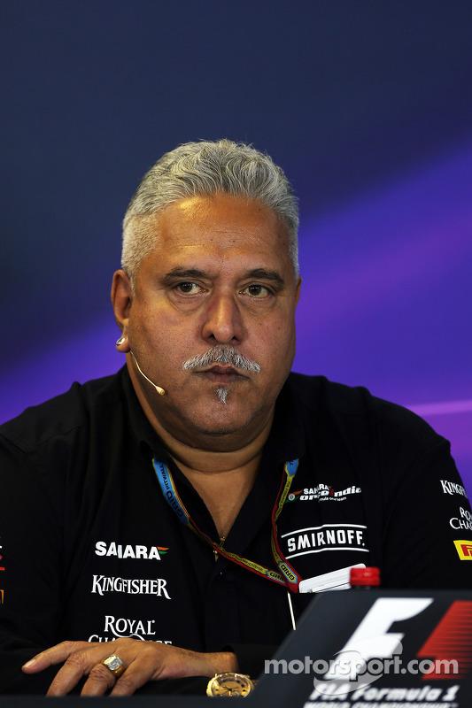Dr. Vijay Mallya, Sahara Force India F1 Takım Sahibi FIA Basın Konferansı'nda