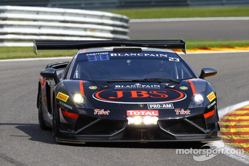 #23 Lago Racing Lamborghini LP600: Roger Lago, David Russell, Steven Richards, Steven Owen