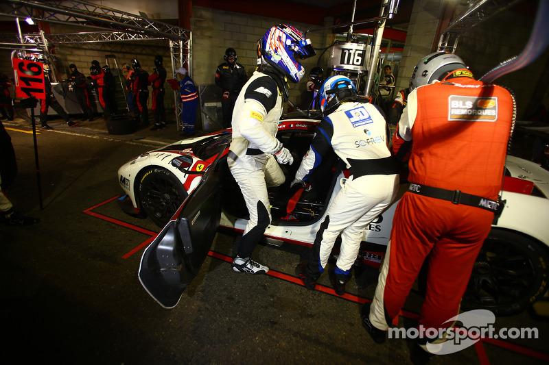 #116 Team SOFREV ASP 法拉利 458 Italia: 法比恩·巴特兹, 埃里克·德巴尔, 路德维奇·巴代, 特里斯坦·沃捷