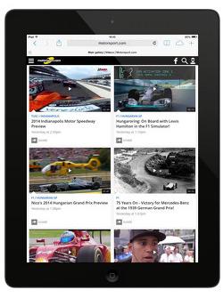 Presentación de la quinta generación de Motorsport.com