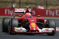 法拉利F14-T车手基米·莱科宁