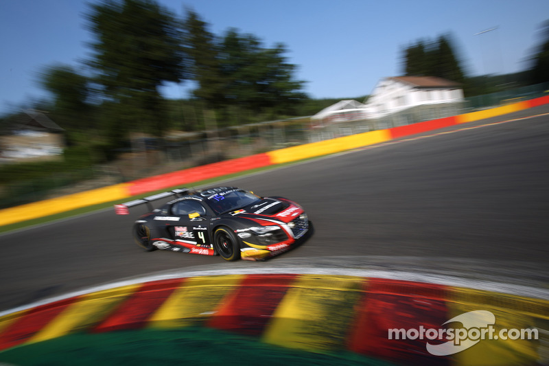 #4 Belgian Audi Club Team WRT Audi R8 LMS ultra: Jean-Luc Blanchemain, Fred Bouvy, Christian Kelders, Vincent Radermecker