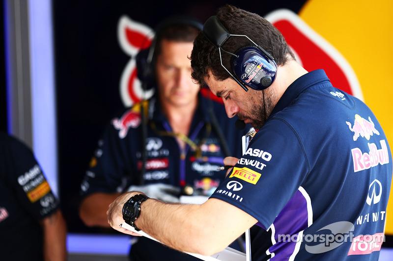 Guillaume Rocquelin, Red Bull Racing Yarış Mühendisi