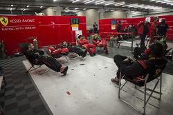 Kessel Racing mechanics